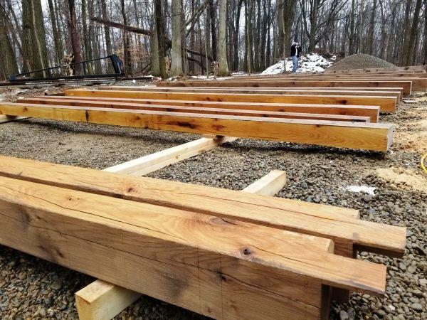new timber frame 1