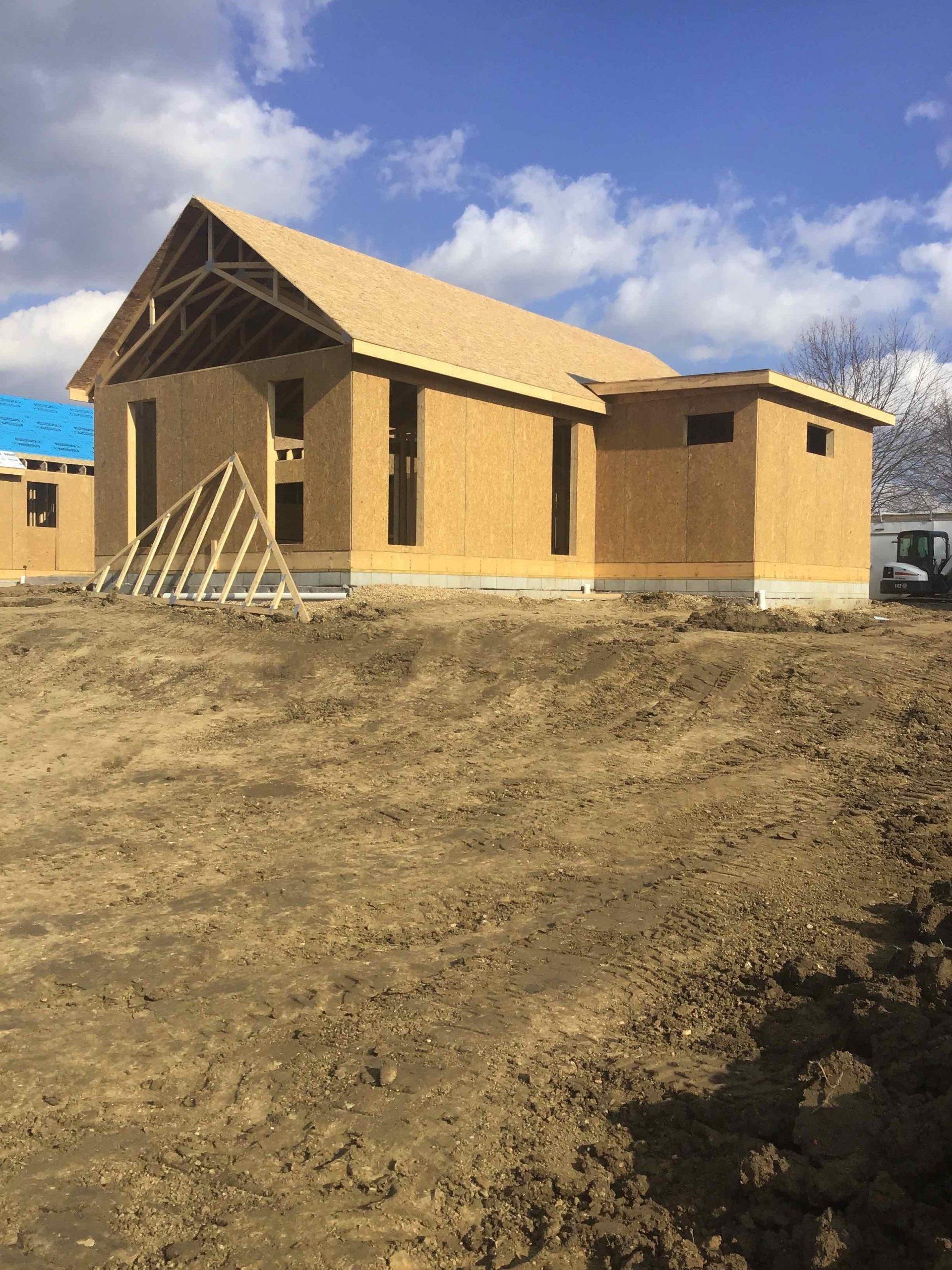 Farm House - New Build - Shrock Premier Custom Construction